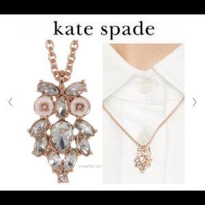 Kate Spade Rose Gold Owl Necklace